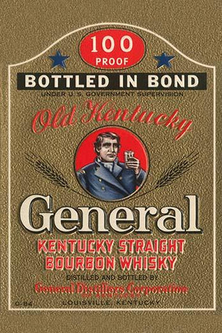 General Kentucky Straight Burbon Whiskey