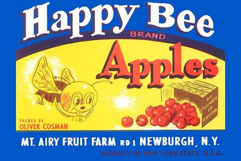 Happy Bee Brand Apples