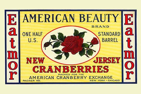 American Beauty New Jersey Cranberries