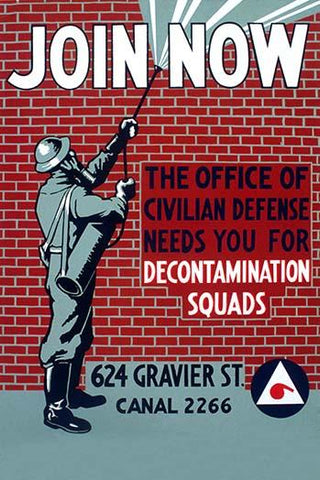Join Now - Decontamination Squads