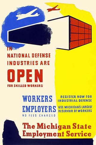 National Defense Industries are Open