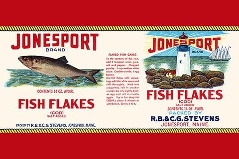 Jonesport Fish Flakes