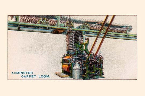 Axminster Carpet Loom