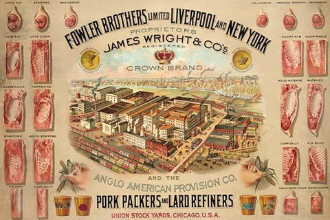 Fowler Brothers Unlimited Pork Packers and Lard Refiners