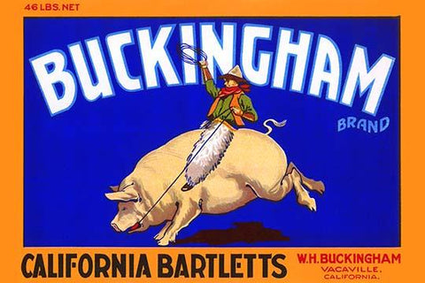 Buckingham California Bartletts