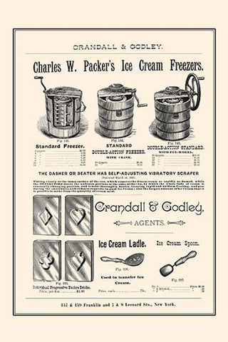 Charles W. Packer's Ice Cream Freezers