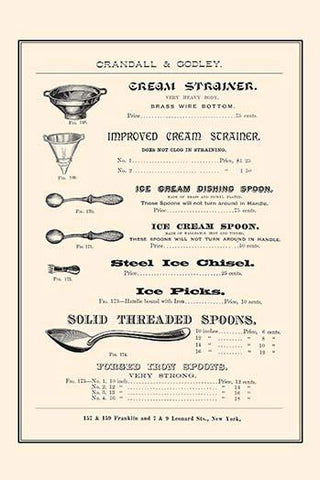 Strainers & Spoons