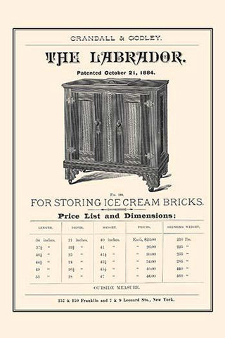 The Labrador - For Ice Cream Bricks