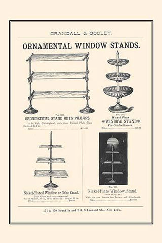 Ornamental Window Stands