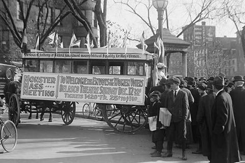 Woman's Suffrage Bus