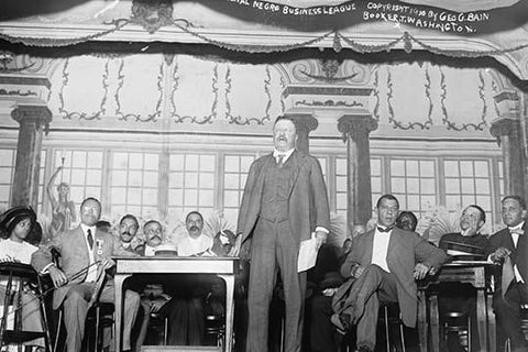 Roosevelt Speaks at Nation Negro Business League