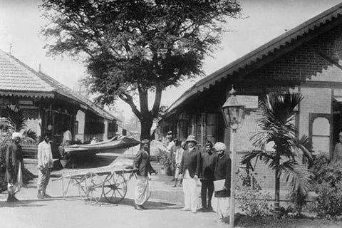 Plague Hospital in Bombay India