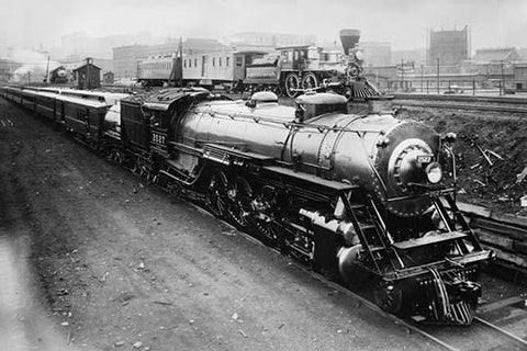 Examples of the Great Northern Locomotives from 1862 & 1924