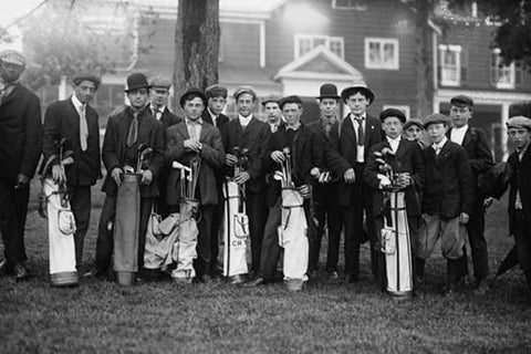 Private Golf Club Caddies at Baltusrol in New Jersey