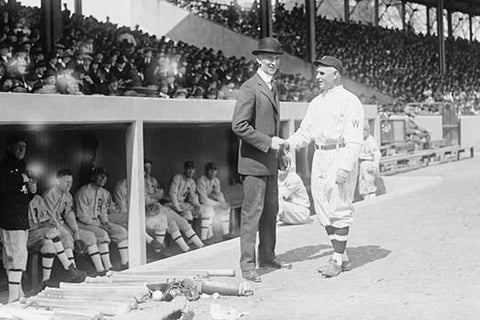 Connie Mack Opens the Game in 1919