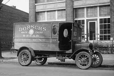 Dorsch's White Cross Bread Delivery Truck