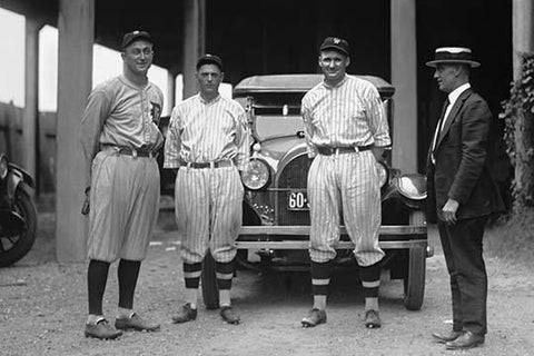 Baseball Players Ty Cobb, Milan, Johnson, Eddie Black