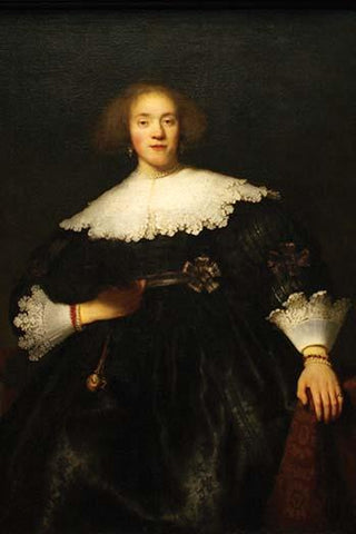 Portrait of a Seated Woman with Pendant