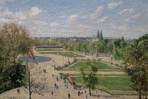 Garden of the Tuileries in the Spring