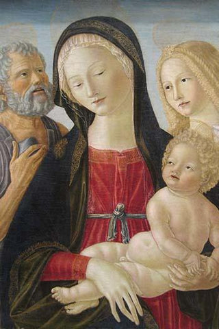 Madonna and Child with Saints Jerome and Mary Magdalene,