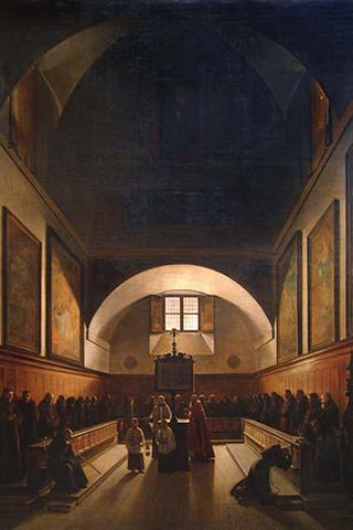 Choir of the Capuchin Church in Rome