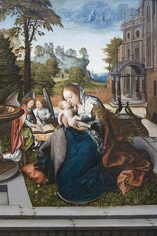 Virgin & Child with Angels