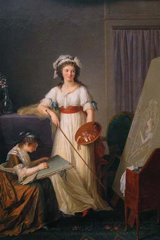 Atelier of a Painter, Probably Madame Vigée Le Brun (1755–1842), and Her Pupil
