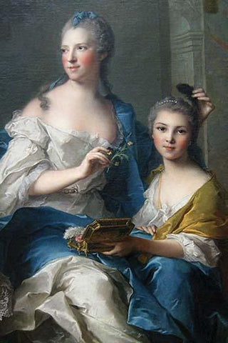 Madame Marsollier and Her Daughter, 1749
