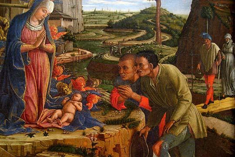 The Adoration of the Shepherds, shortly after 1450