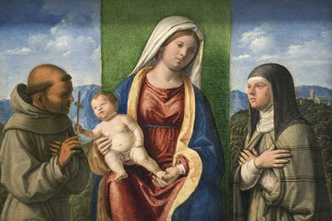 Madonna & Child with Francis & Clare