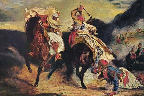 Combat of the Giaour & the Pasha
