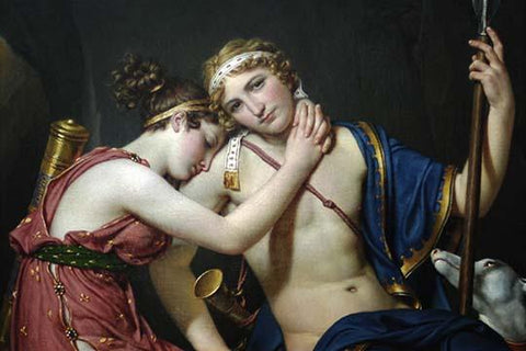 Farewell of Telemechus & Eucharis
