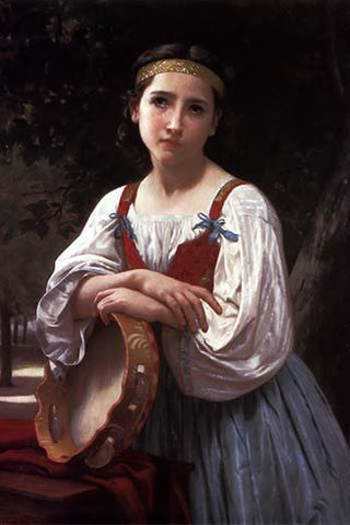 Gypsy with a Basque Drum