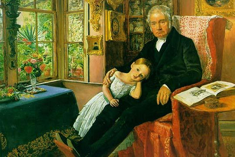 James Wyatt & His Granddaughter