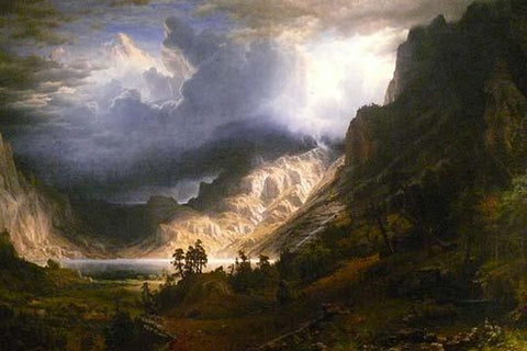 Mt. Rosalie, A Strom in the Mountains