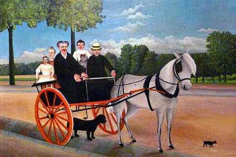 The Carriage of Father Juniet & His family