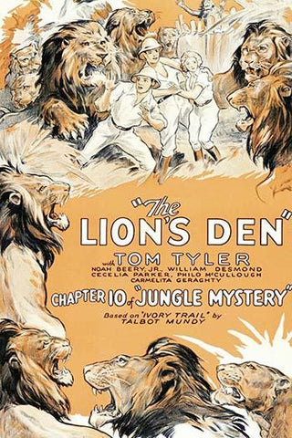 Jungle Mystery - The Lion's Den