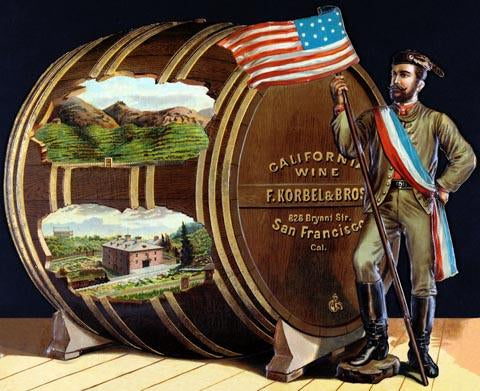 California wine, F. Korbel & Bros.