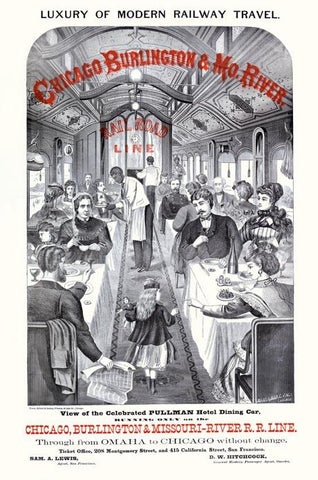 Luxury of modern railway travel