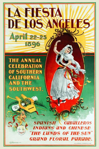 La Fiesta de Los Angeles, April 22-25 1896