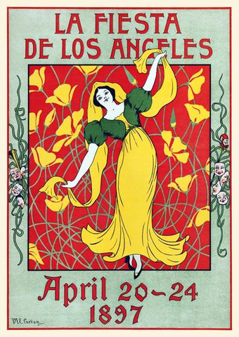 La Fiesta de Los Angeles April 20-24 1897