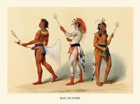 Ball Players (Lacrosse)