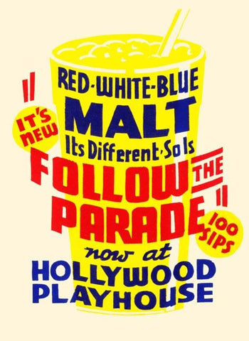 Red white blue malt - It's different