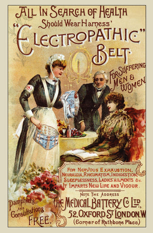 Electropathic Belt