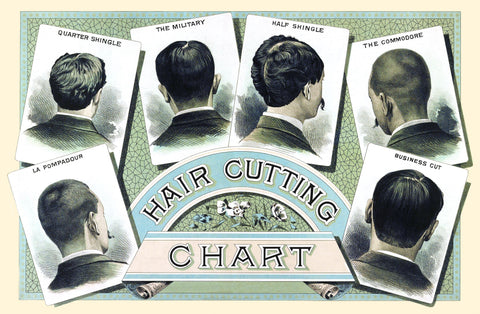 Hair Cutting Chart