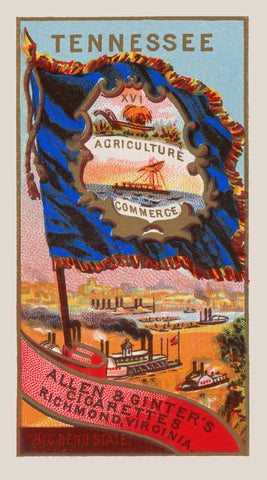 Allen & Ginter's Tennessee