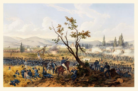 Battle at Churubusco