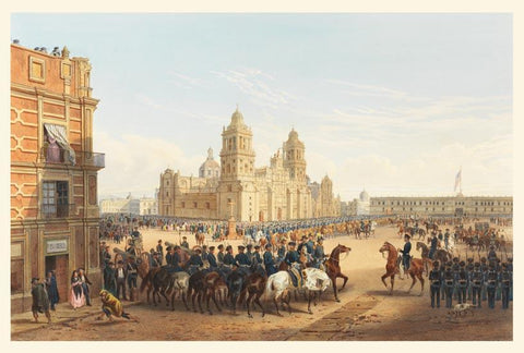 General Scott's entrance into Mexico