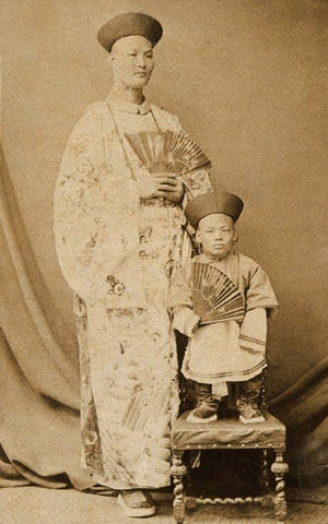 Chang Yu-sing and Chung Mow