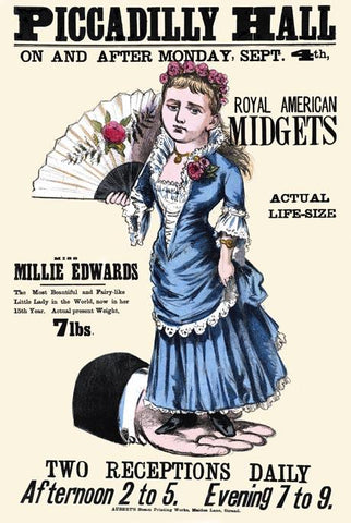 Piccadilly Hall: Miss Millie Edwards